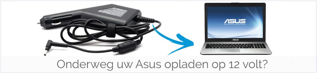 Onderweg uw Asus Laptop opladen op 12 volt? Wij hebben voor elke Asus de juiste Autolader!