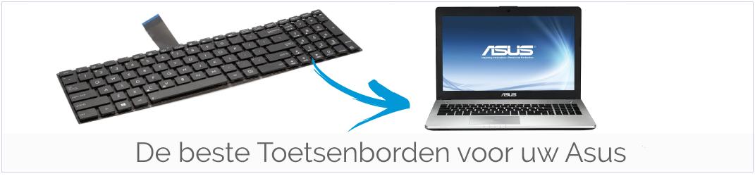 Toetsenbord voor uw Asus laptop bestellen?