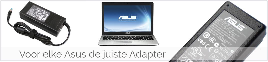Asus Laptop Adapter/ Oplader kapot? Koop een nieuwe Asus Adapter-Oplader!