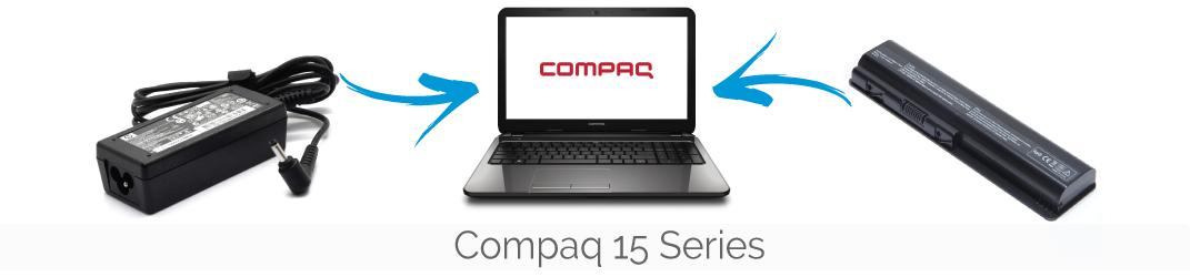 Compaq 15 series accu. adapter, toetsenbord, oplader bestellen