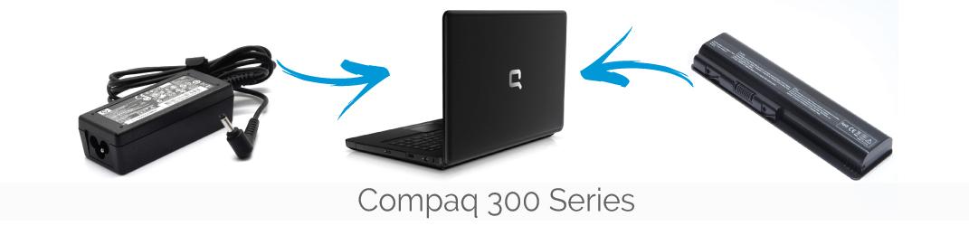 Compaq 300 series accu/ adapter bestellen
