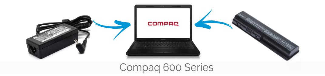 Compaq 600 series laptop onderdelen kopen