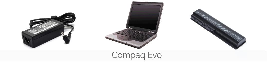 Compaq Evo laptop onderdelen