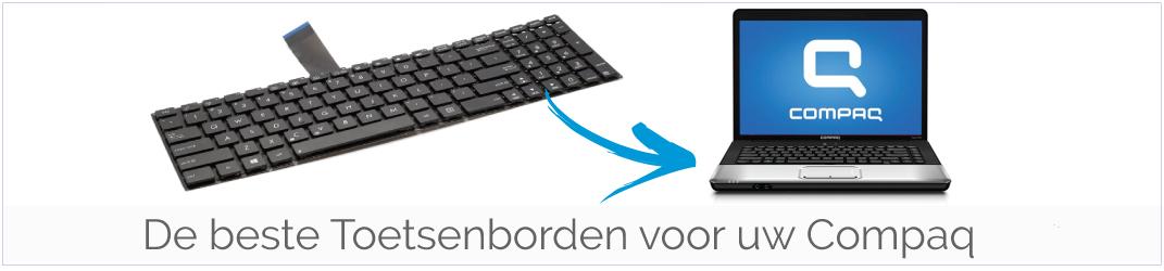 Toetsenbord van uw Compaq kopen? Bestel goedkope Compaq Toetsenborden bij ons!