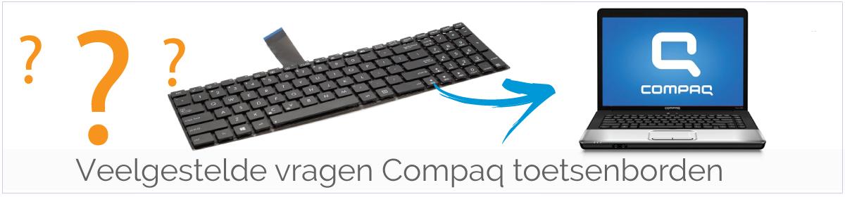 Veelgestelde vragen over Compaq laptop Toetsenborden/ Keyboards