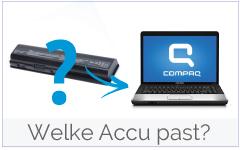Welke accu/ batterij past in mijn Compaq laptop?