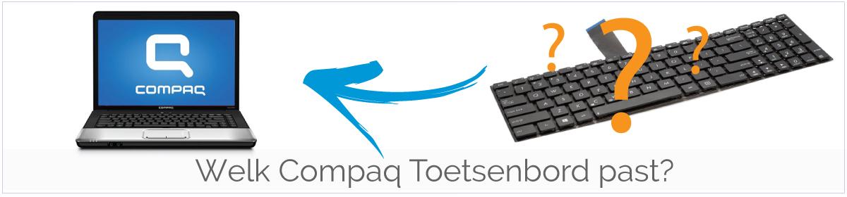 Welk type Compaq Toetsenbord/Keyboard heb ik nodig?