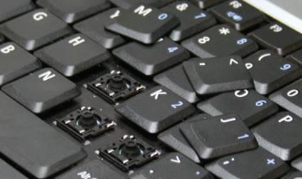 Asus toets repareren Asus Toetsenbord-Keyboard