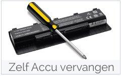 Zelf Asus accu-batterij vervangen handleiding