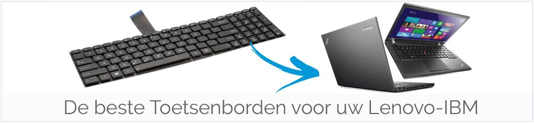 Lenovo-IBM Toetsenbord vervangen? Bestel een goedkoop een nieuw Toetsenbord voor uw Lenovo-IBM Laptop!