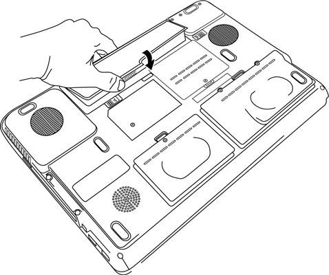 Stap 2 zelf Lenovo-IBM accu/ batterij vervangen