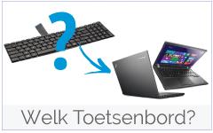 Welk Lenovo-IBM Toetsenbord/ Keyboard heb ik nodig?