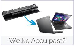 Welke accu/ batterij past in mijn Lenovo-IBM laptop?