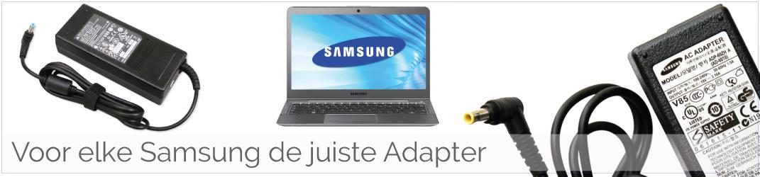 Samsung Adapter/ Oplader kapot en wilt u goedkoop een nieuwe Samsung Laptop oplader kopen?