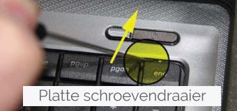 Samsung toetsenbord keyboard vervangen stap 2