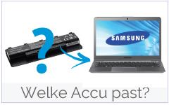 Welke Samsung accu bestellen?