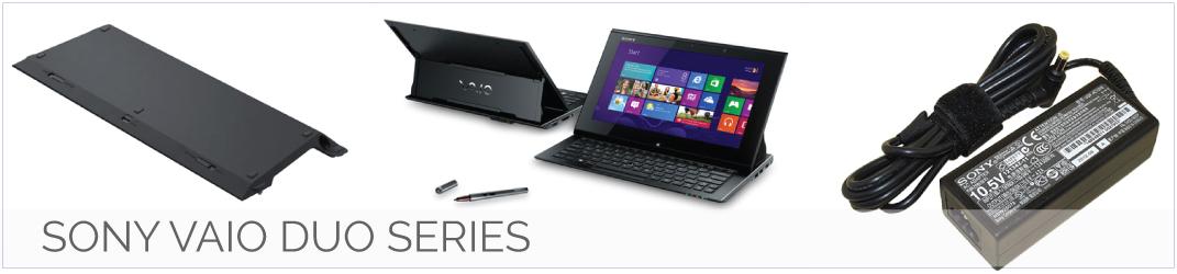 Sony Vaio Duo Series laptop onderdelen, accu, batterij, adapter, oplader, toetsenbord