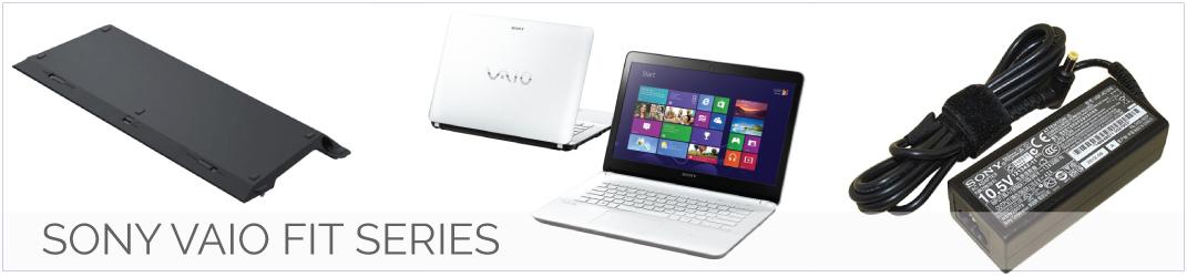 Sony Vaio Fit Series laptop onderdelen, accu, batterij, adapter, oplader, toetsenbord
