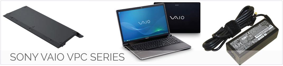 Sony vaio VPC series Accu, Adapter, oplader, toetsenbord en meer