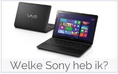 Welke Sony laptop heb ik?