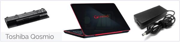 Toshiba Qosmio accu, adapter, oplader, autolader bestellen?