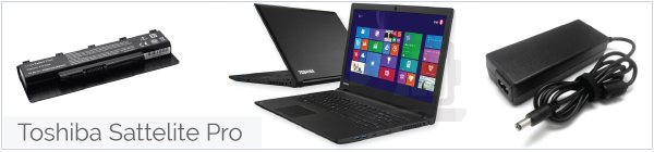Toshiba Sattelite Pro accu, adapter, of autolader bestellen?