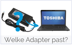 Welke oplader past in mijn toshiba laptop?